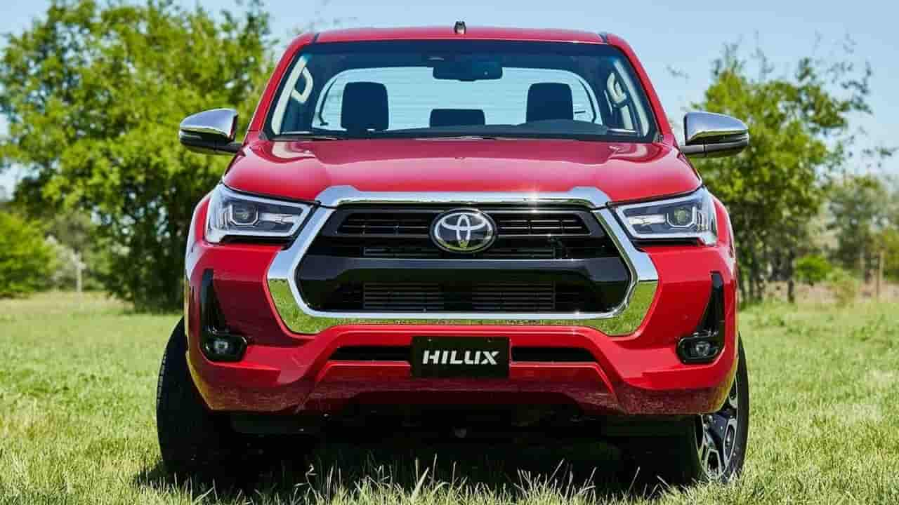 Toyota Hilux colores rojos chasis